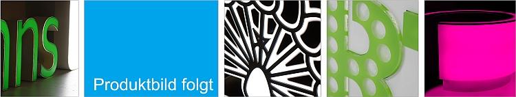 Werbeschilder aus Alu-Dibond, Acrylglas oder Forex