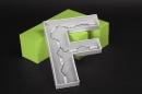 Kunststoffbuchstabe Vorder- und Rückseite beleuchtet