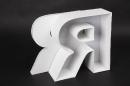 Kunststoffbuchstabe Vorderseite beleuchtet