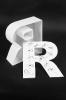 Kunststoffbuchstabe Vorderseite und Zarge beleuchtet